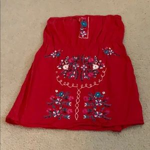 Tops - Embroidered dress